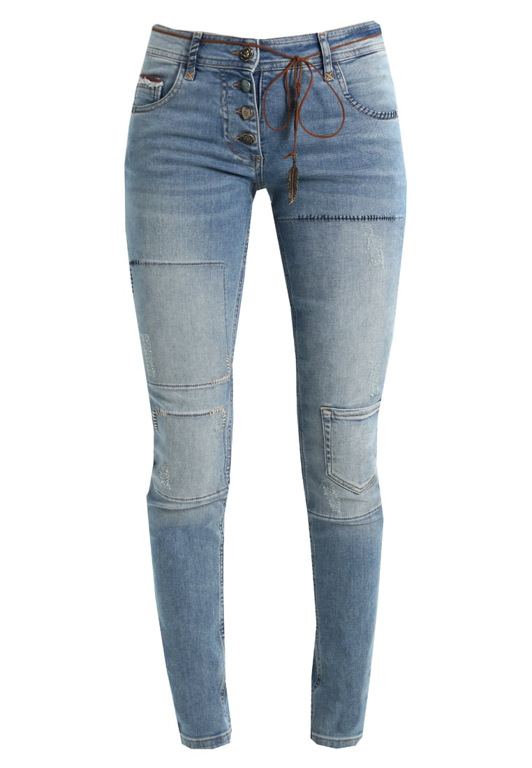 Isla Ibiza Bonita FANCY Jeansy Slim fit denim blue - 8217220