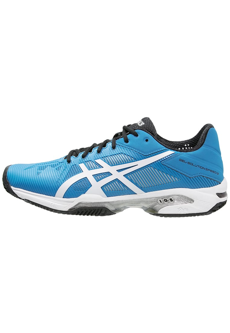 ASICS GELSOLUTION SPEED 3 CLAY Buty do tenisa Outdoor blue jewel/white/black - E601N