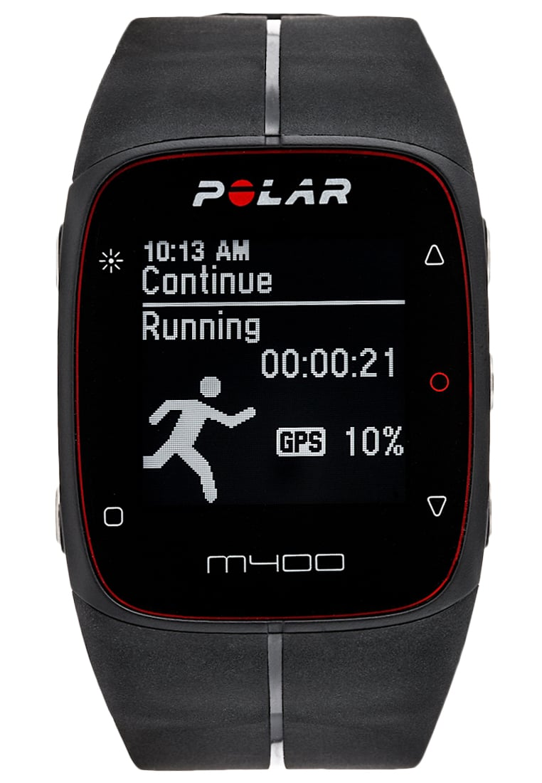 Polar M400 HR Pulsometr black - 90051341
