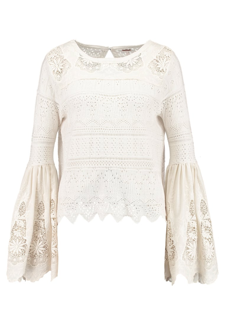 Free People ONCE UPON A TIME Sweter ivory