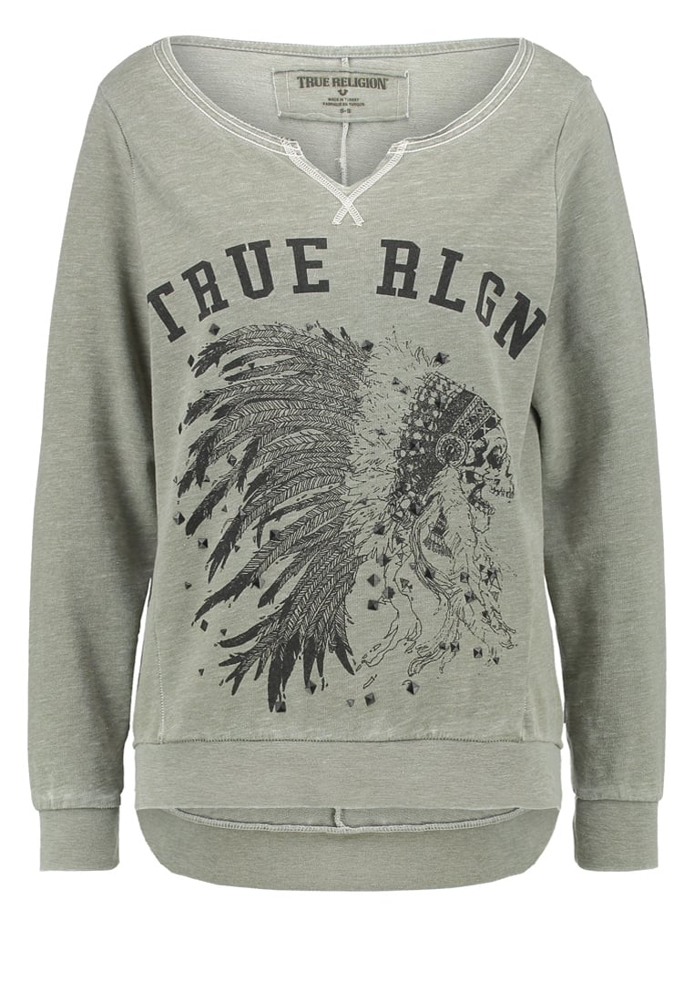 True Religion Bluza military - W16FF15H5G