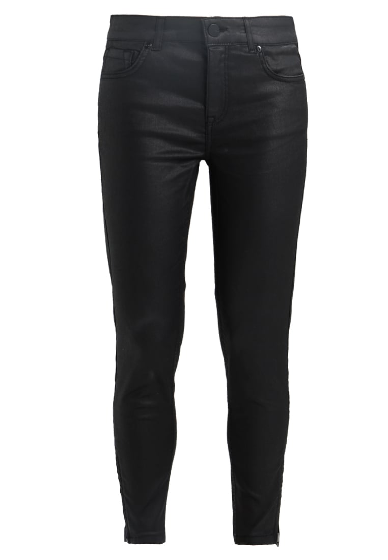 Oasis ALL OVER COATED ISABELLA Jeans Skinny Fit black - ALL OVER COATED ISABELLA