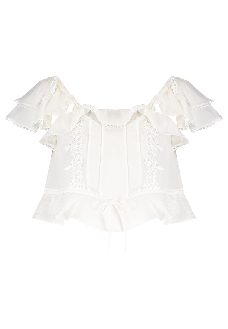 For Love & Lemons Bluzka white - CT1307L-SP17