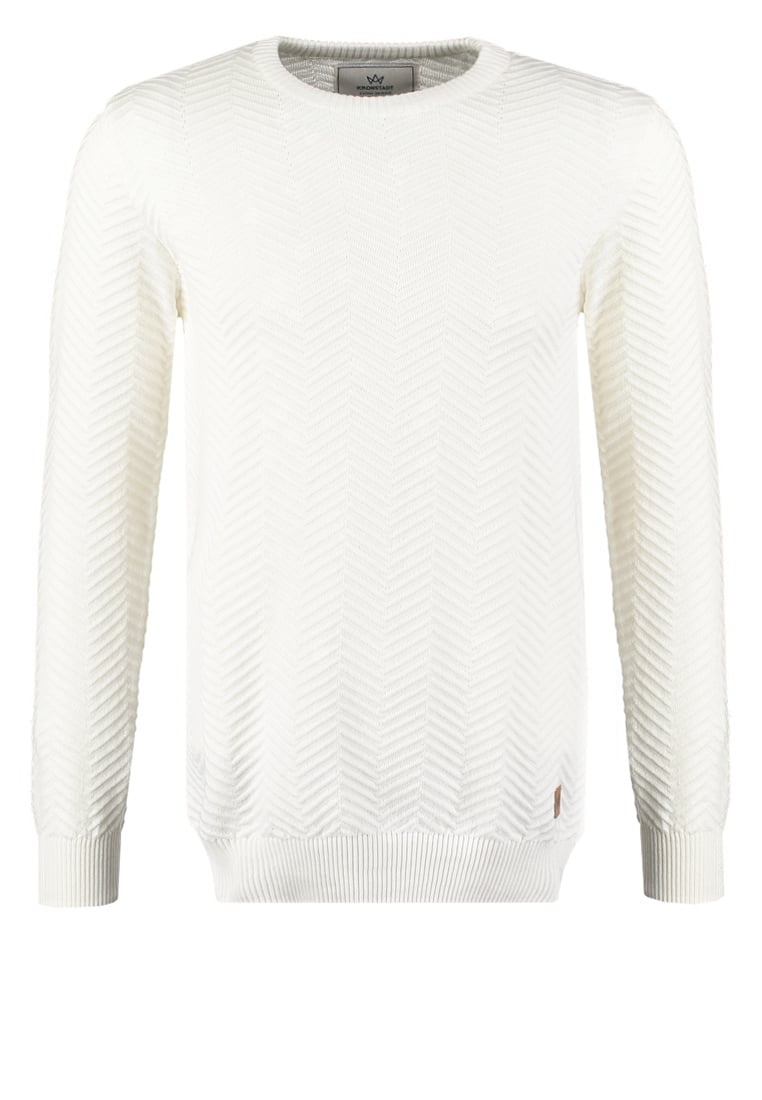 Kronstadt CARLO Sweter off white - 50026