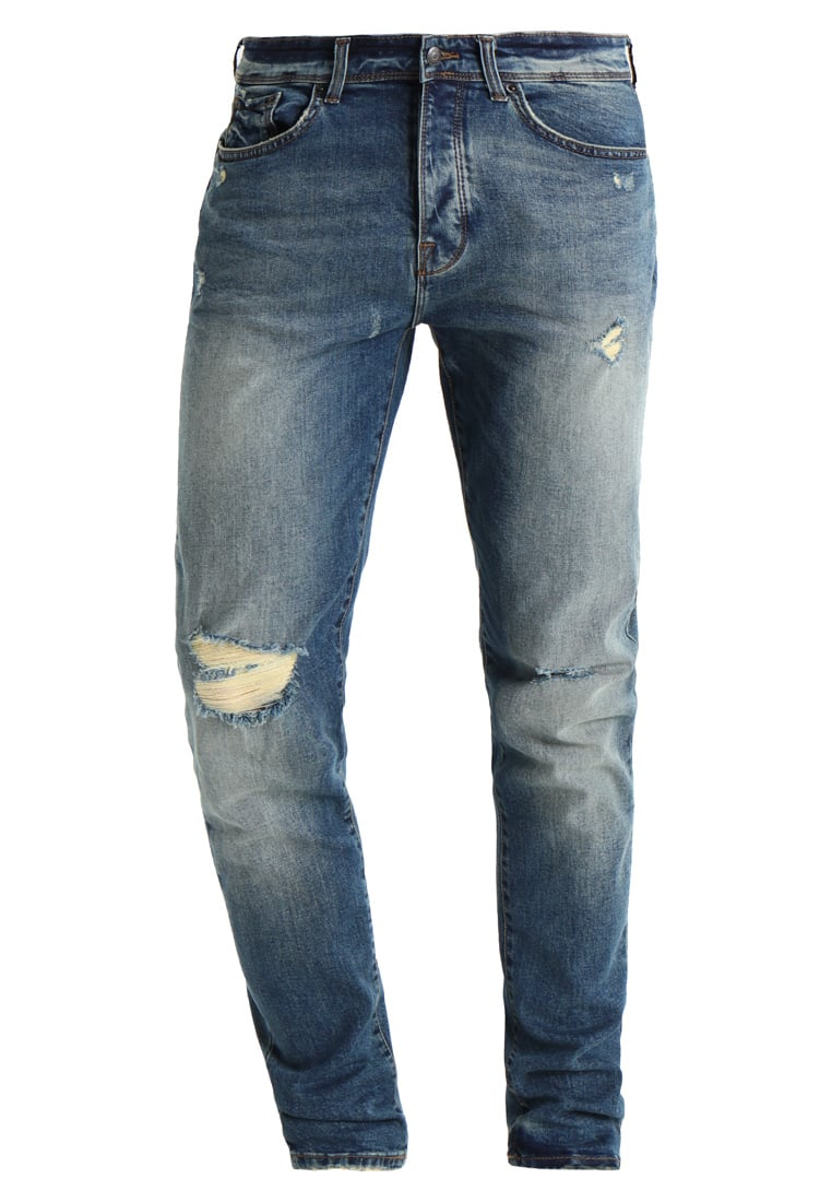 Burton Menswear London VINTAGE TINT Jeansy Relaxed fit blue - 12A02LBLU