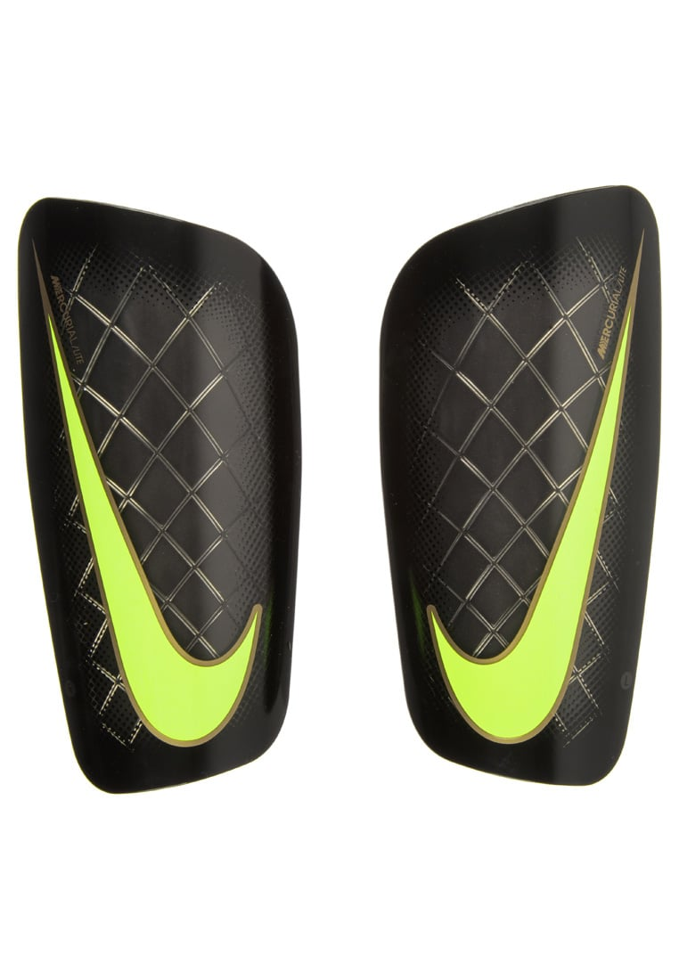 Nike Performance MERCURIAL LITE Nagolenniki black/volt - SP0284