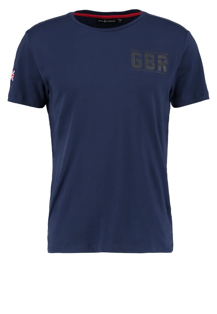 Sail Racing INTERNATIONAL Tshirt z nadrukiem navy - 1711513