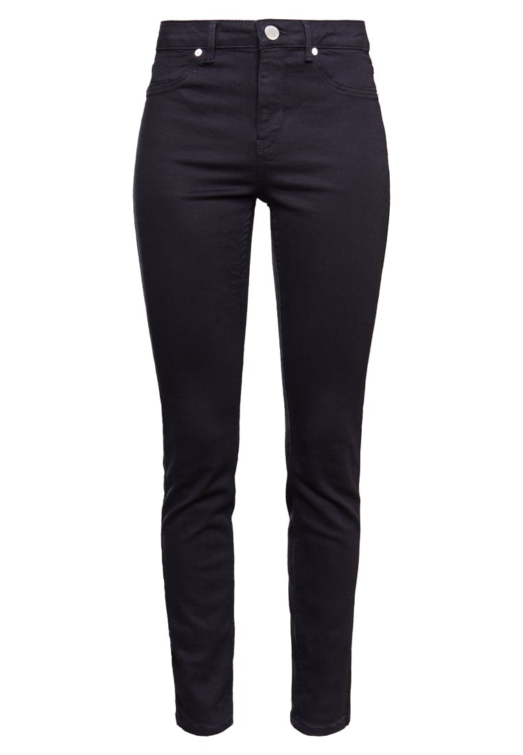 2nd Day JOLIE CROPPED BOSS Jeans Skinny Fit black denim - 2174724327