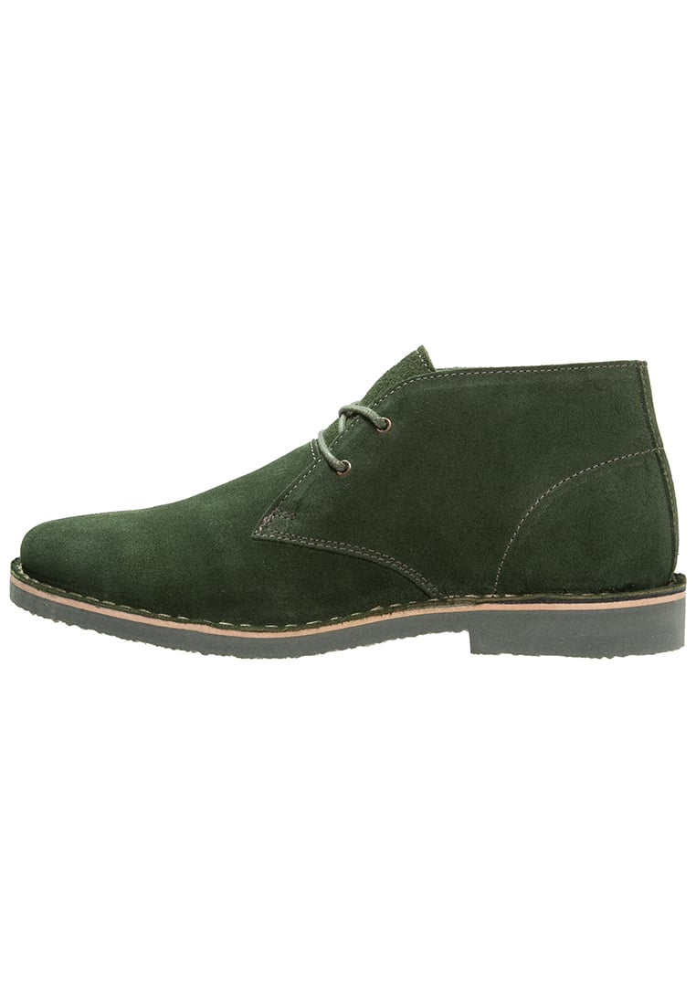 ICHI BASMA Ankle boot dark green - 20103226