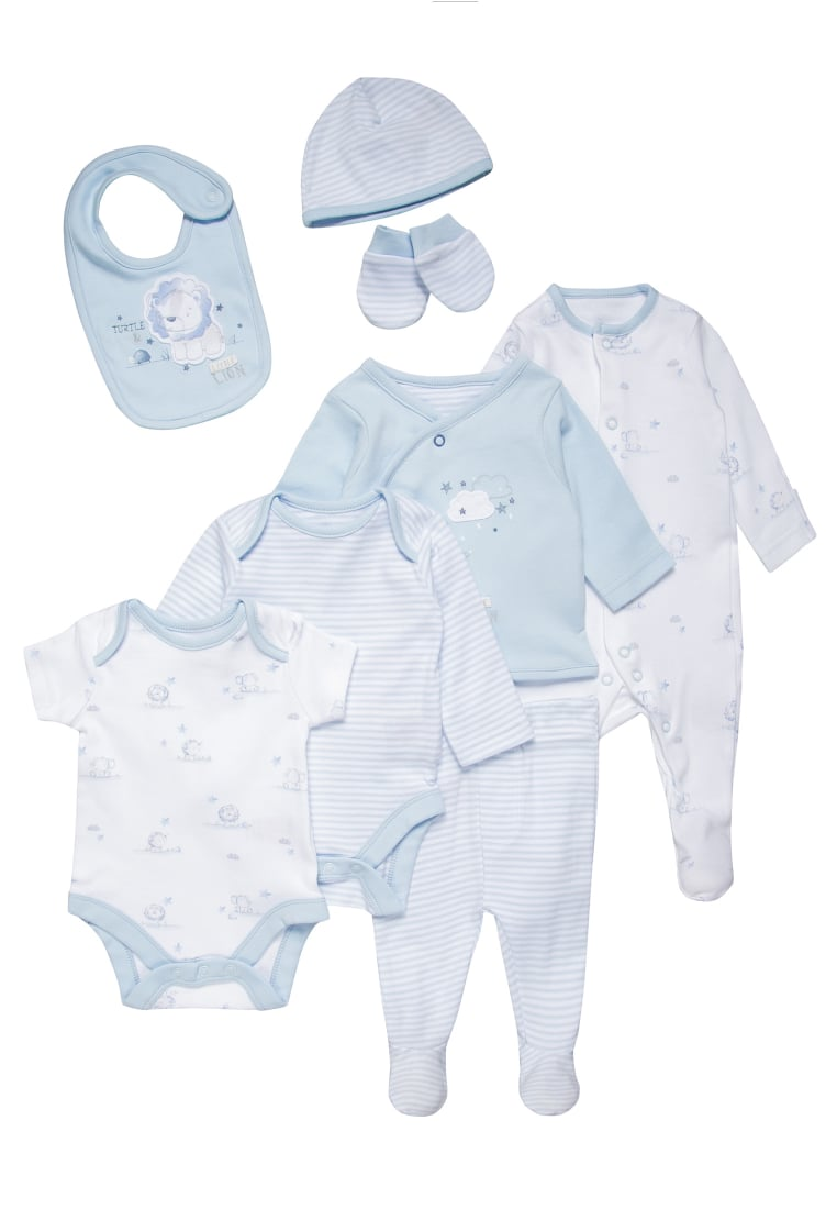 mothercare MY FIRST LITTLE LION SET Body pale blue - LC586