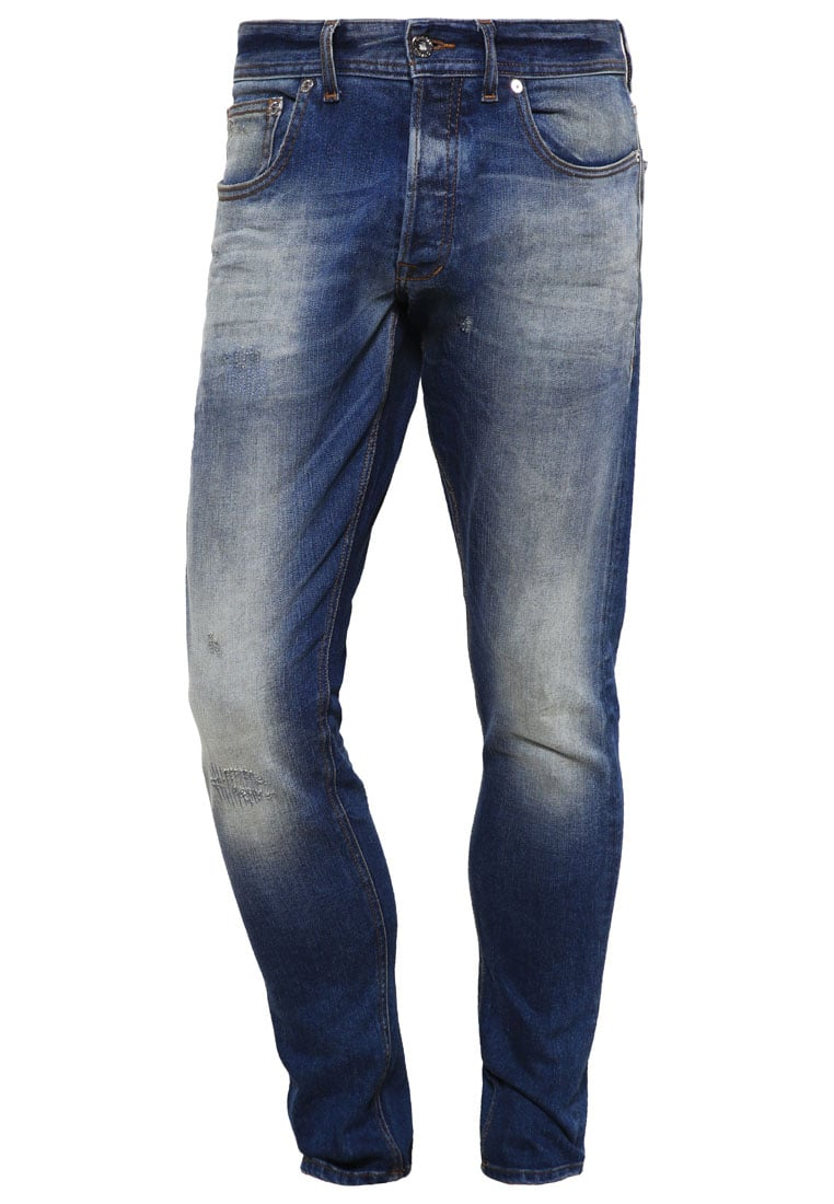 Chasin' EGO Jeansy Slim fit blue denim - 1111326002