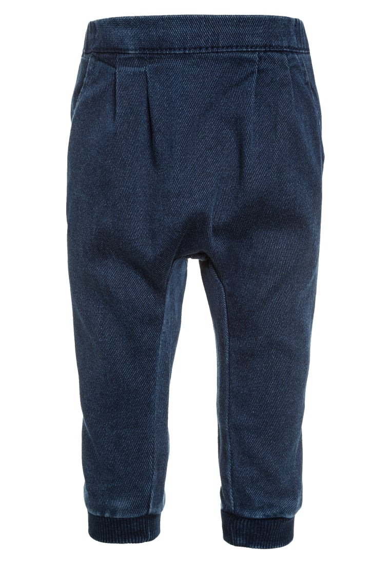 Benetton Jeansy Relaxed fit blue denim - 4CJI555AE