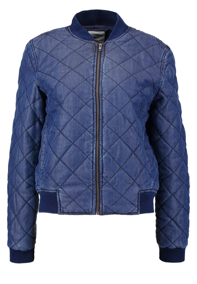 Minimum ADEVA Kurtka Bomber medium blue - 149780400