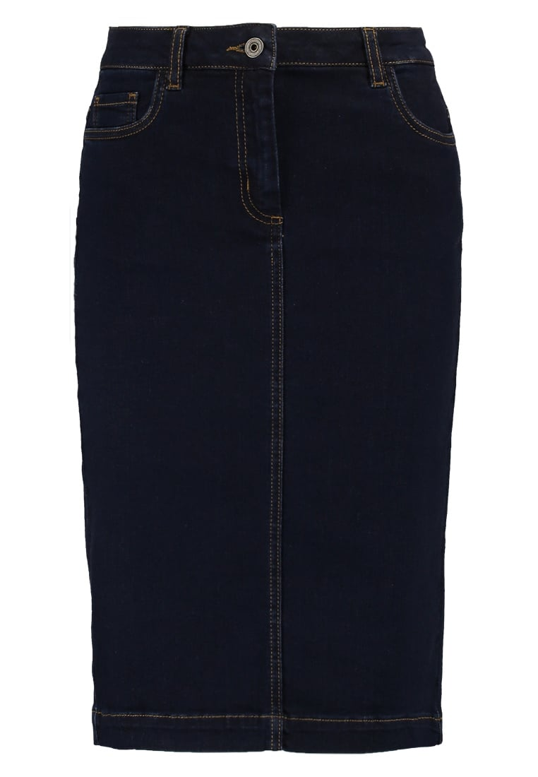 Soaked in Luxury COLLIN Spódnica jeansowa dark blue denim - 30402317