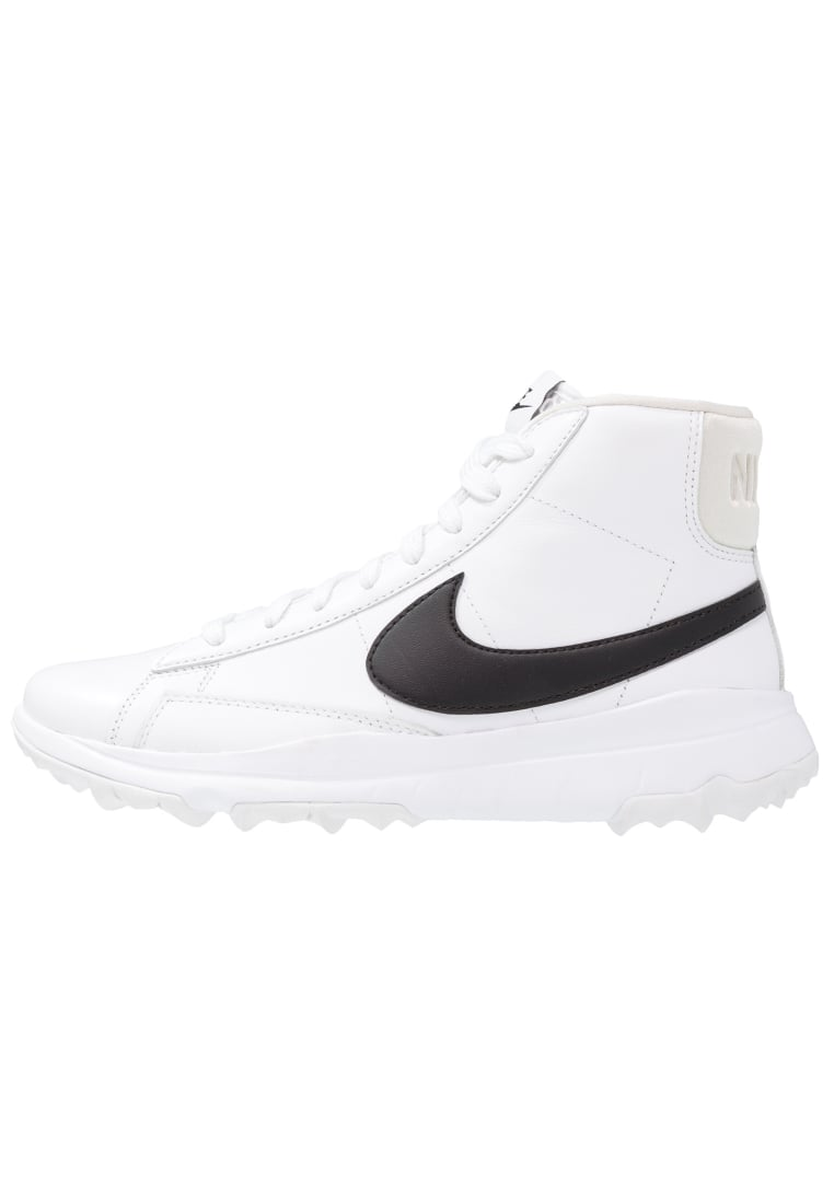 Nike Golf BLAZER Buty do golfa white/black - 818730
