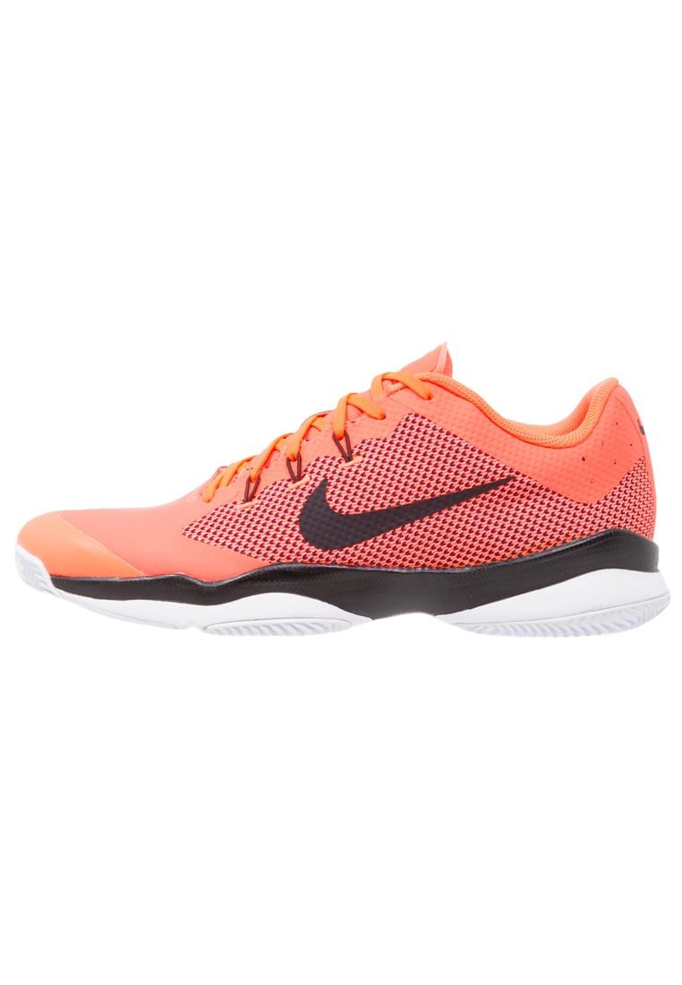 Nike Performance AIR ZOOM ULTRA Buty do tenisa Outdoor hyper orange/black/white - 845007