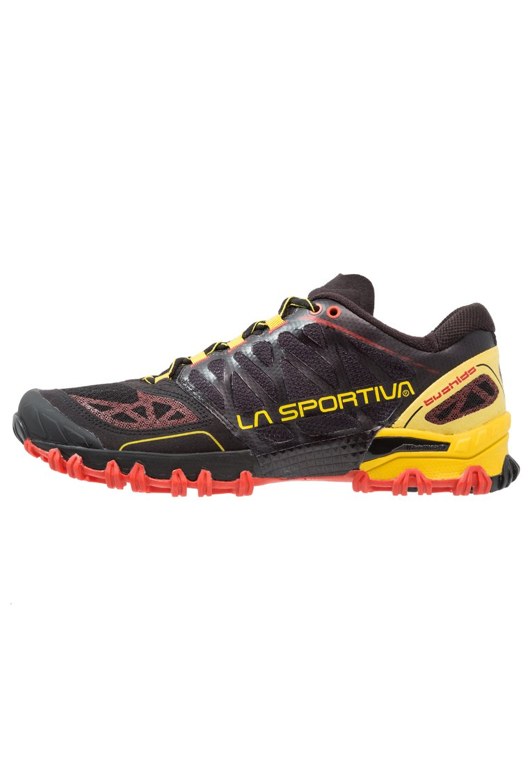 La Sportiva BUSHIDO Buty do biegania Szlak black/yellow - 26K
