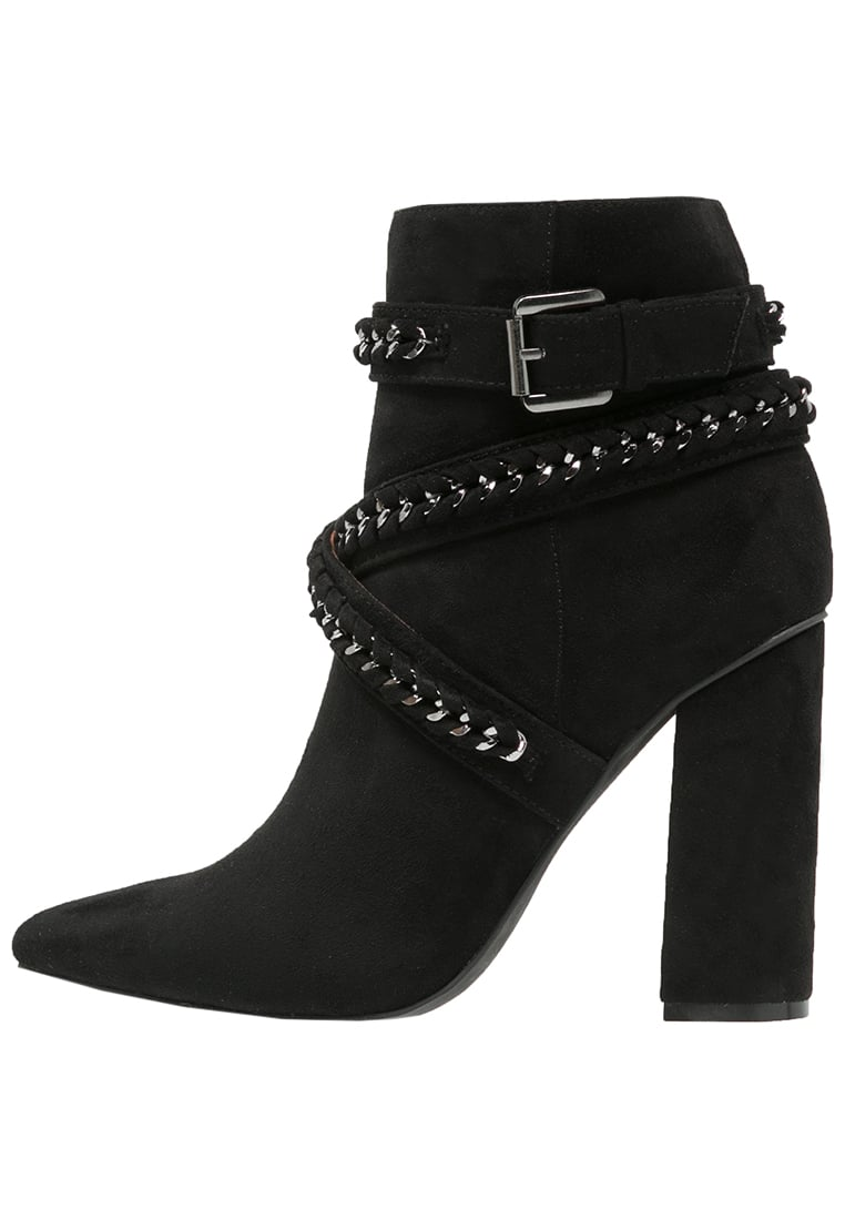 Missguided Ankle boot black - WZF1603905