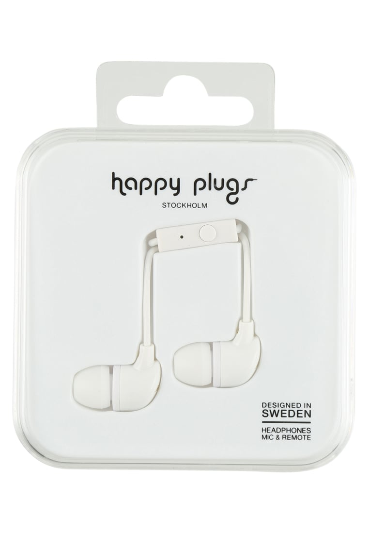 Happy Plugs Słuchawki white - Happy Plugs In-Ear
