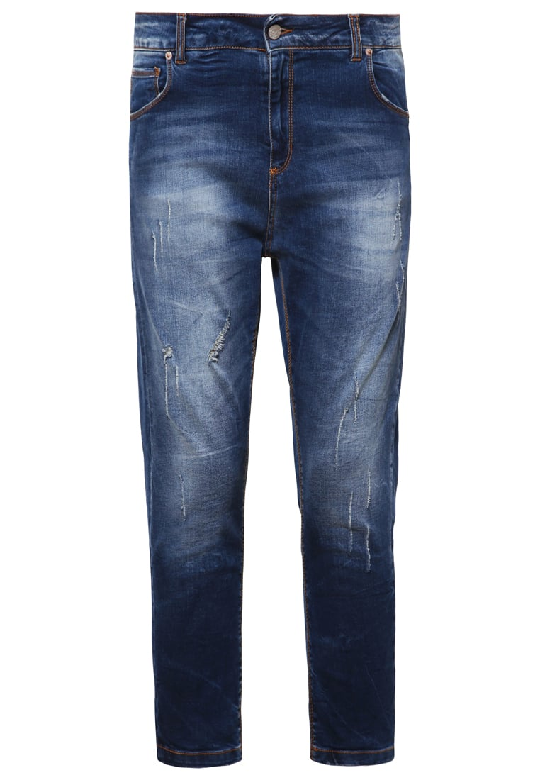 Fracomina Jeansy Relaxed fit stonewash - FR16FPJ100