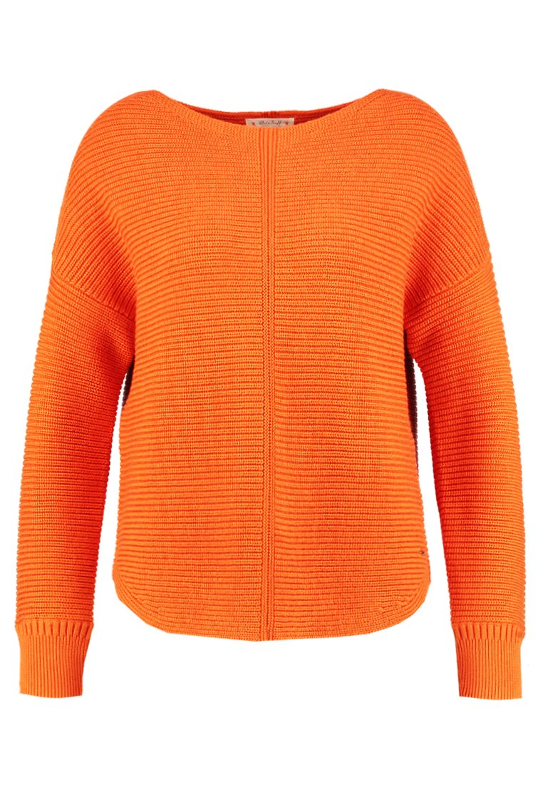 White Stuff EASTSIDE TEXTURED JUMPER Sweter orange - 422153