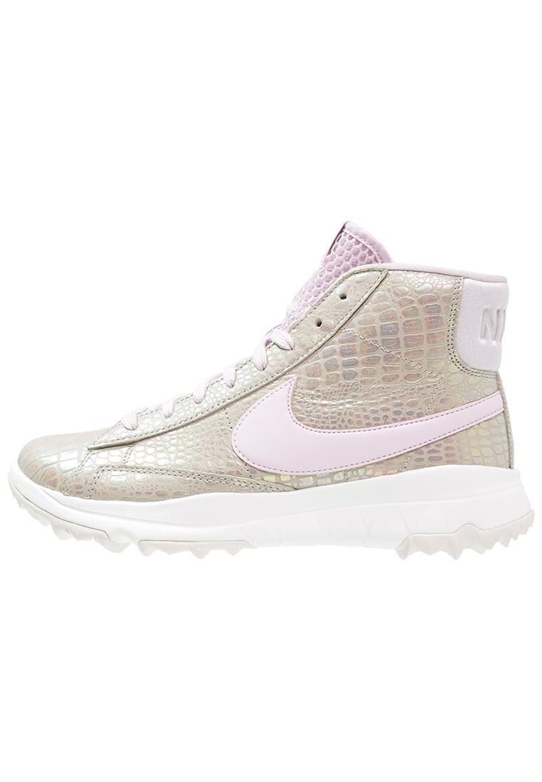 Nike Golf BLAZER Buty do golfa lite iron ore/bleached lilac/summit white - 818730