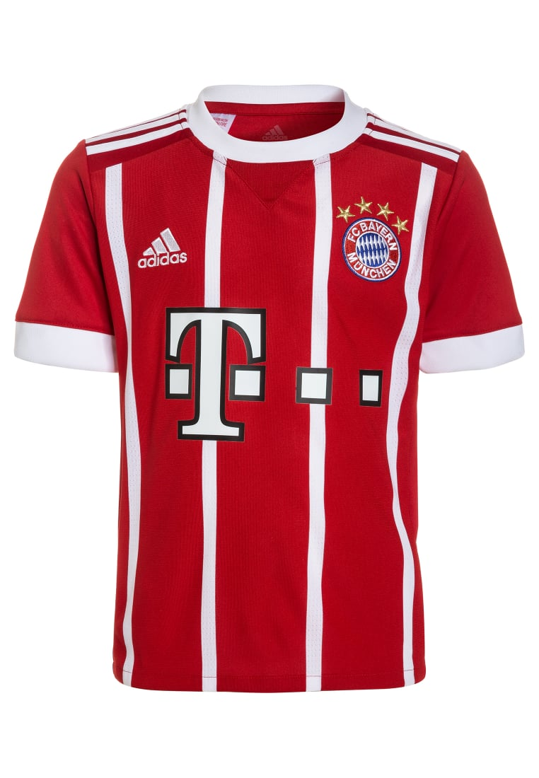 adidas Performance FC BAYERN MÜNCHEN HOME Artykuły klubowe true red/white - BV741