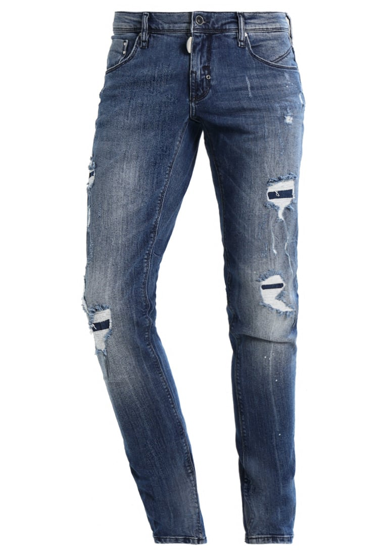 Antony Morato DON GIOVANNI Jeansy Slim fit blu denim - MMDT00125-FA750161