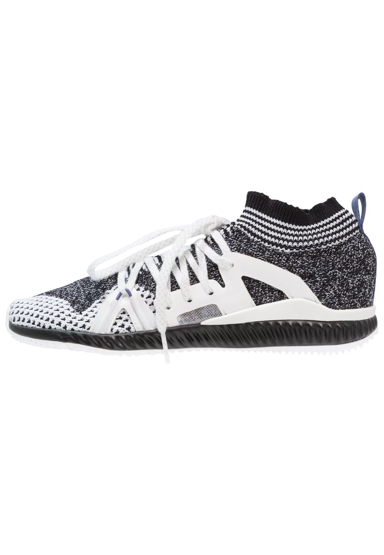 adidas by Stella McCartney EDGE TRAINER BOUNCE Buty treningowe black/white/plum - KDX22