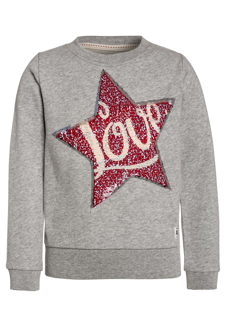 American Outfitters STAR Bluza heather oxford - 117-1200-06
