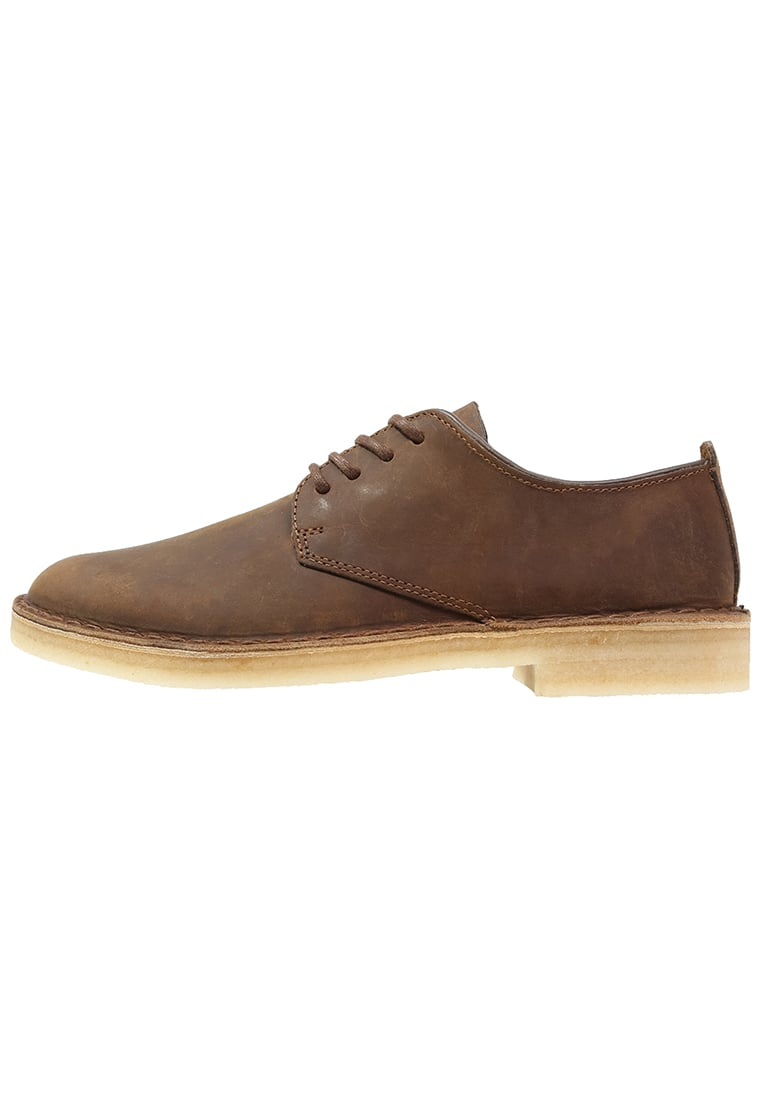 Clarks Originals LONDON Sznurowane sportowe dark brown - 26107880
