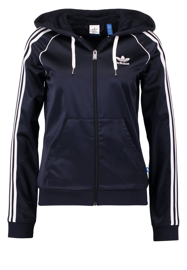 adidas Originals SLIM FIT Kurtka wiosenna dark blue - MKF61