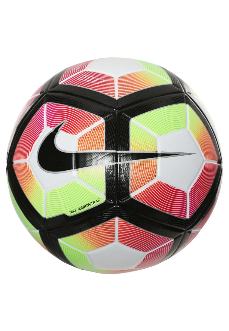 Nike Performance ORDEM 4 Piłka do piłki nożnej white/bright crimson/black - SC2943
