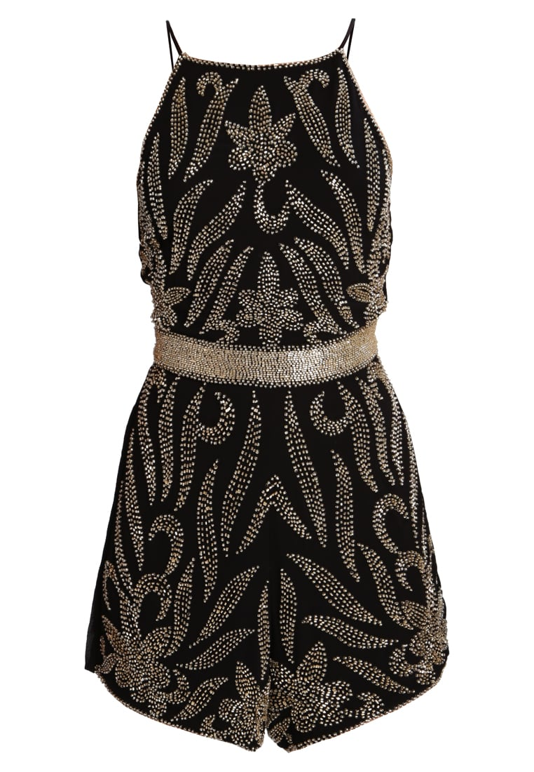 Lace & Beads Petite ADINA Kombinezon black/gold - Adina