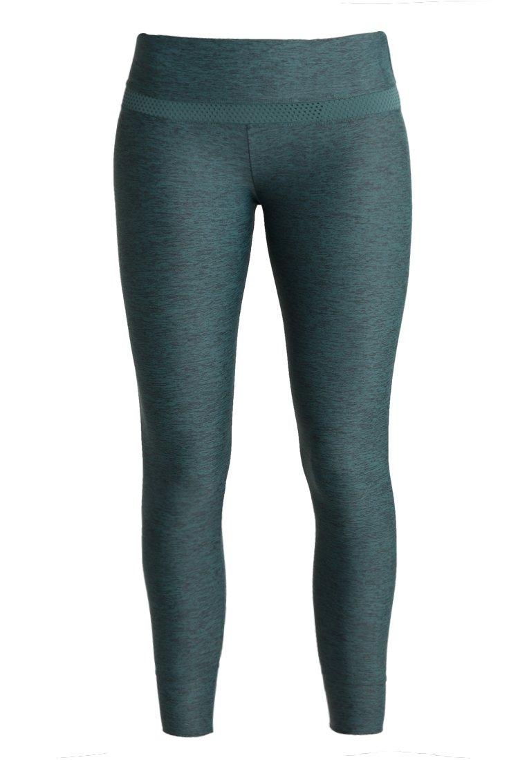 Lorna Jane FLEXION CORE ANKLE BITER Legginsy jungle green marl - W011840