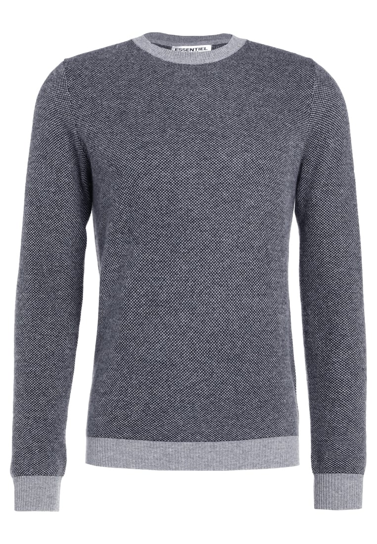 Essentiel Antwerp INTELLECT Sweter grey - M-Intellect Cashmere Knit