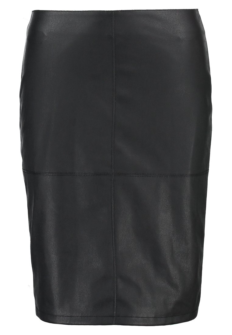 ONLY ONLTICKET SKIRT Spódnica ołówkowa  black
