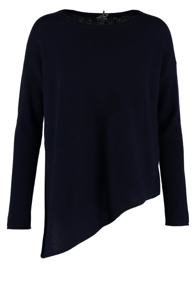 Cocoa Cashmere Sweter navy - CC991