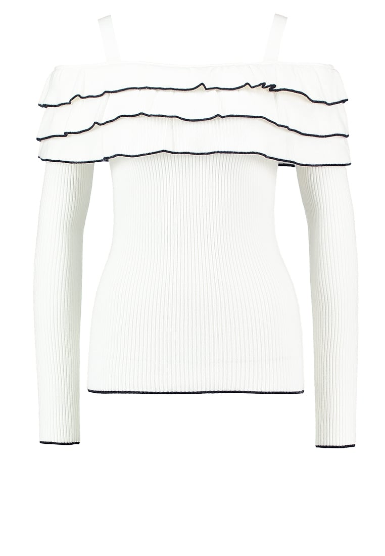 Lost Ink ALBA Sweter off white - 0501119050280009