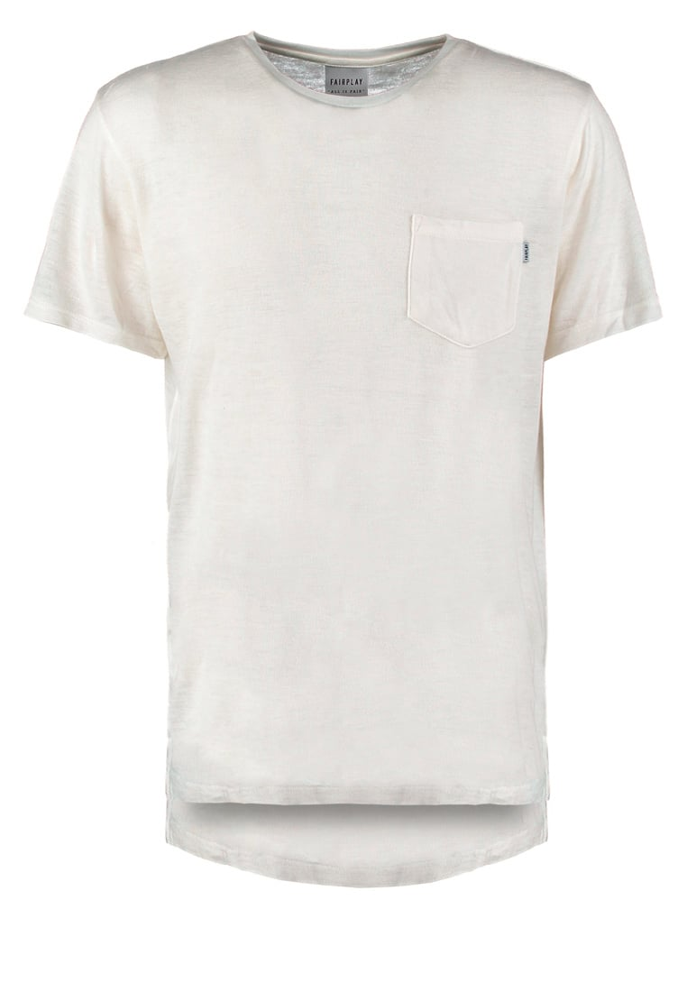 FAIRPLAY GLEN Tshirt basic white - F1603007
