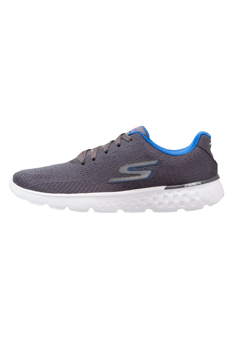 Skechers Performance GO RUN 400 Buty do biegania treningowe charcoal/blue - 54354