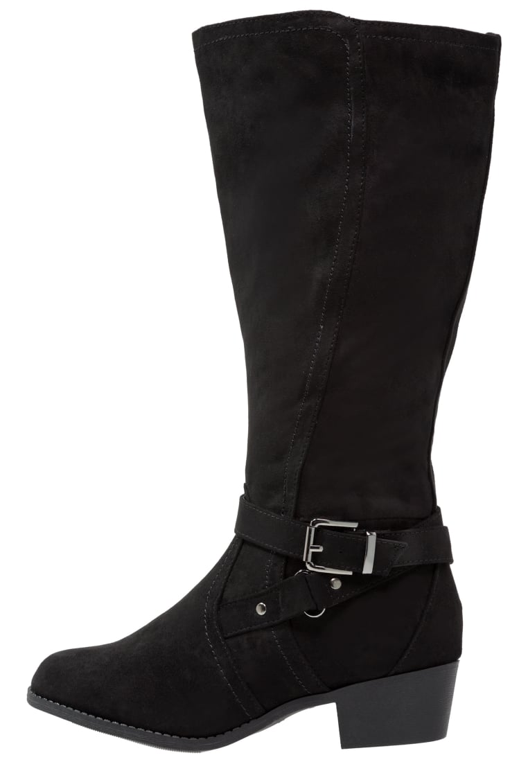 New Look Wide Fit BRUGES Kowbojki i Buty motocyklowe black - 3821283