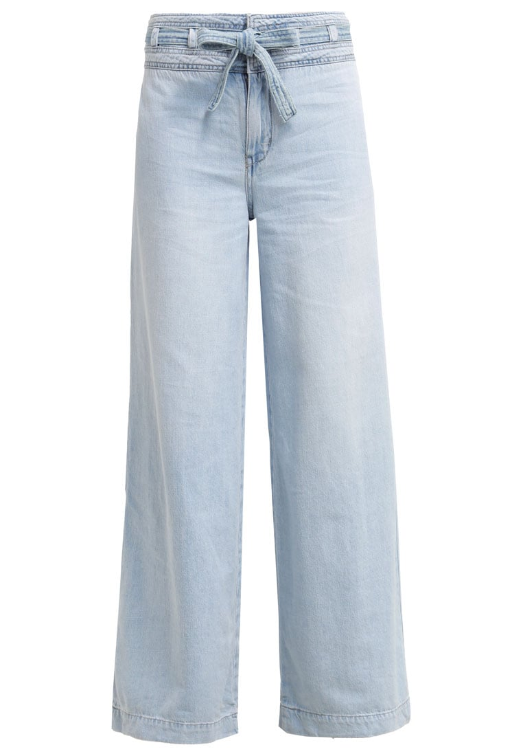 Free People AUGUSTA Jeansy Dzwony pale blue - OB464673