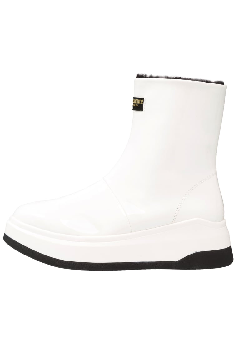 Juicy Couture DALIA Botki na platformie white - JB113