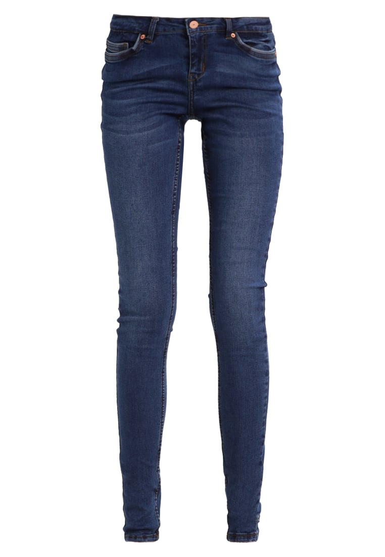 Noisy May Tall Jeans Skinny Fit dark blue denim - 10191444