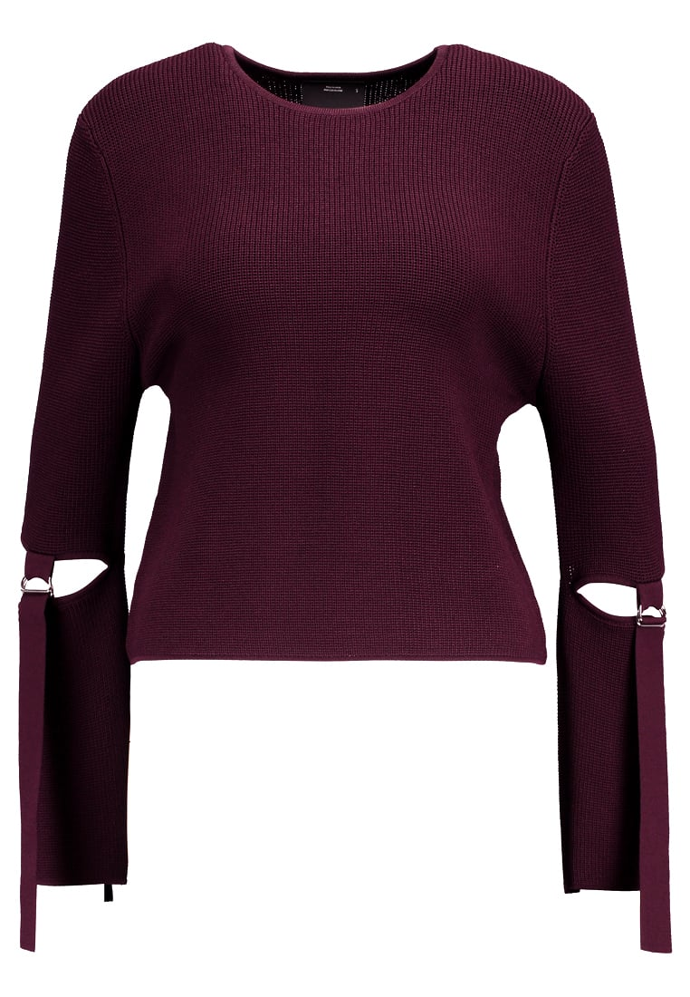Cameo Collective FRAMED Sweter aubergine - CC170533K