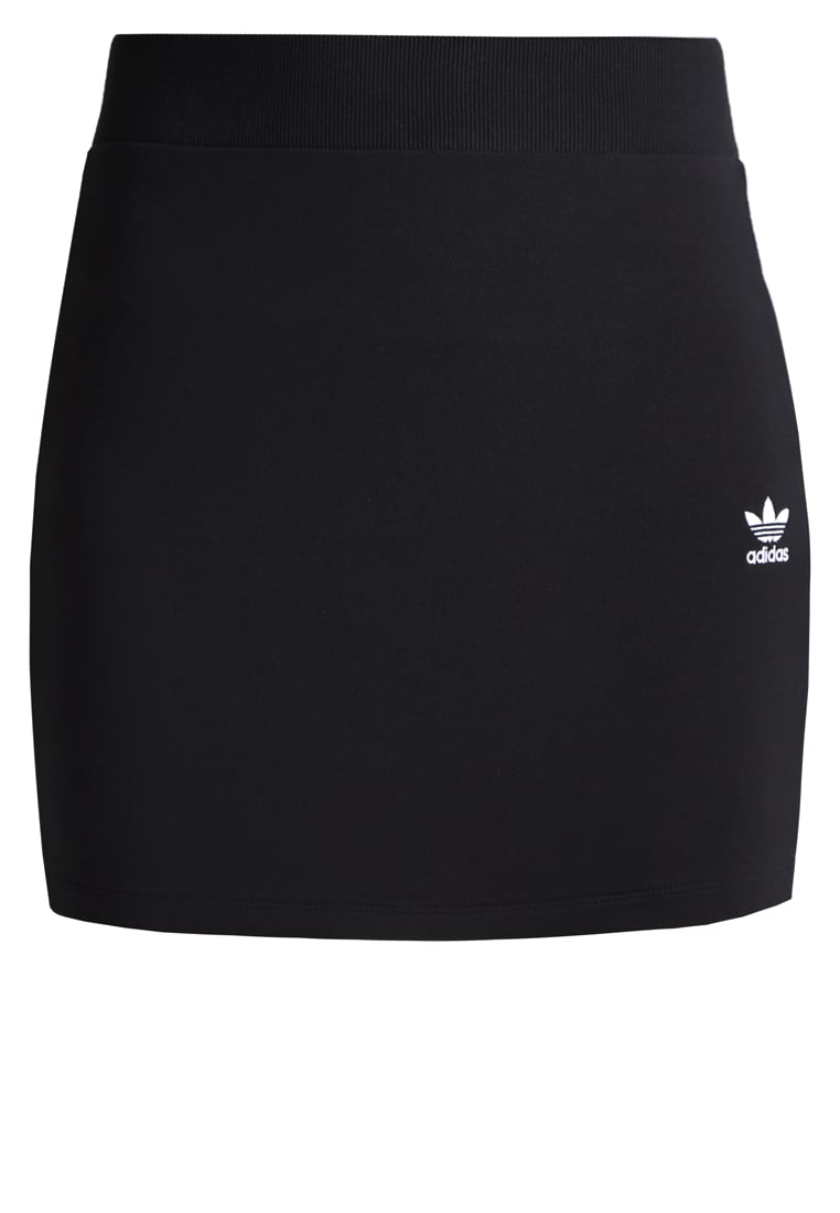 adidas Originals Spódnica mini black - MKZ96