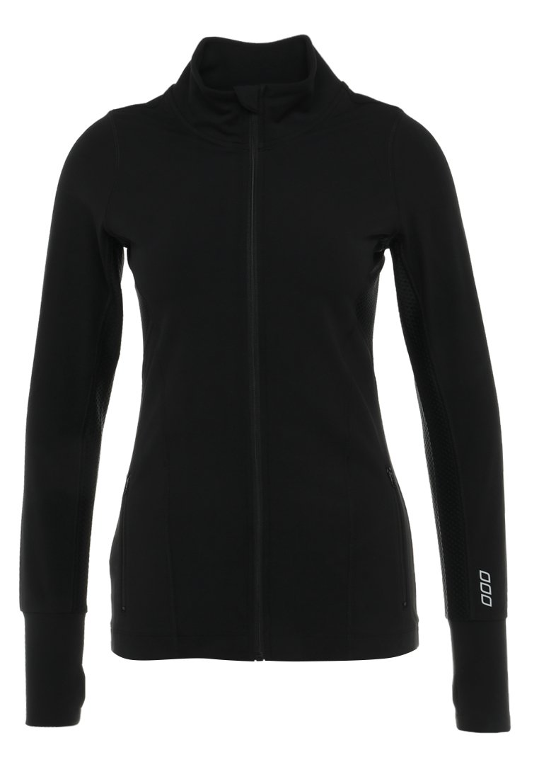 Lorna Jane RALLY EXCEL ZIP THROUGH Bluza rozpinana black - E0030