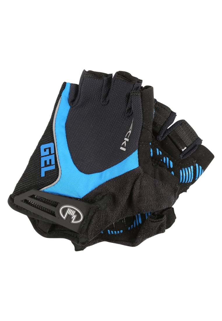 Roeckl Sports IMURO Mitenki black/blue - 3103-235