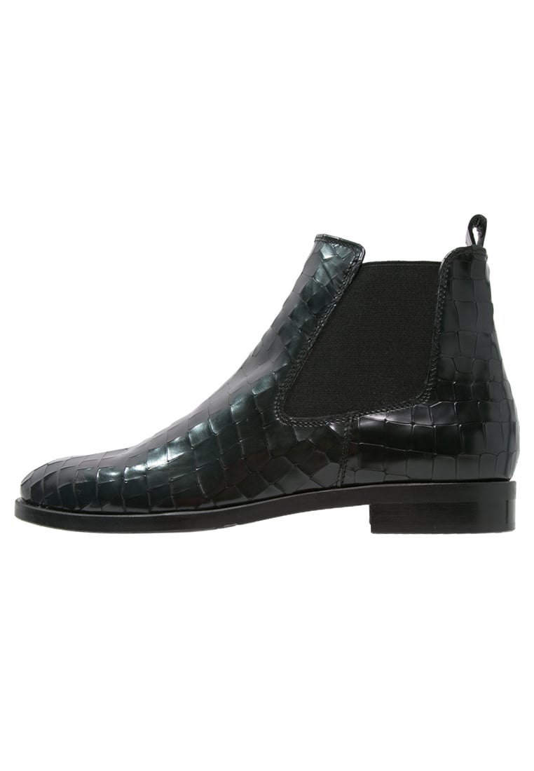 Maripé Ankle boot cocco nero verde - 23041